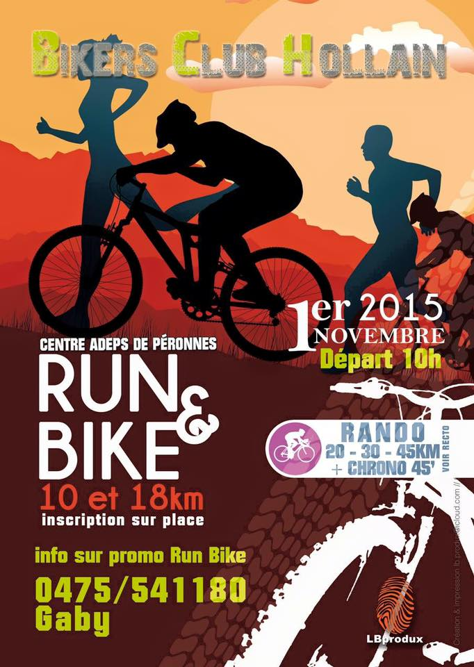 Run & Bike de Péronnes 2015