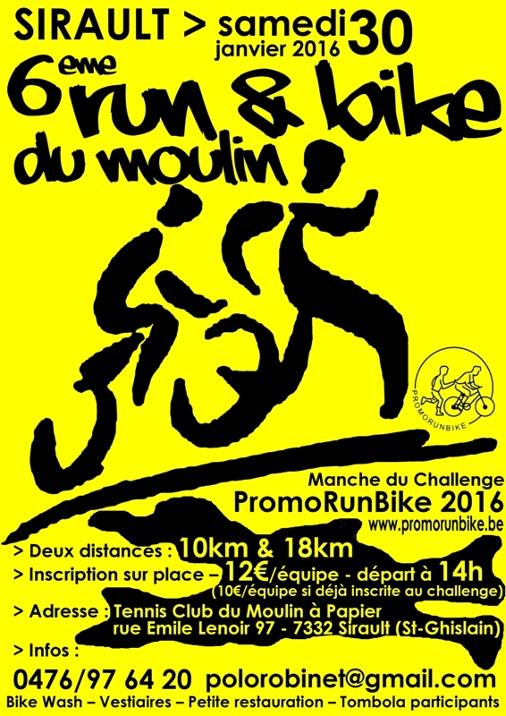 Run&Bike MAP 2016 affiche web